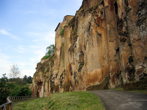 Cliff walk, Orvieto