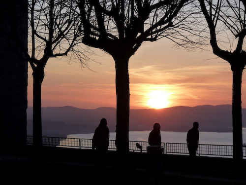 Lake overlook, Montefiascone