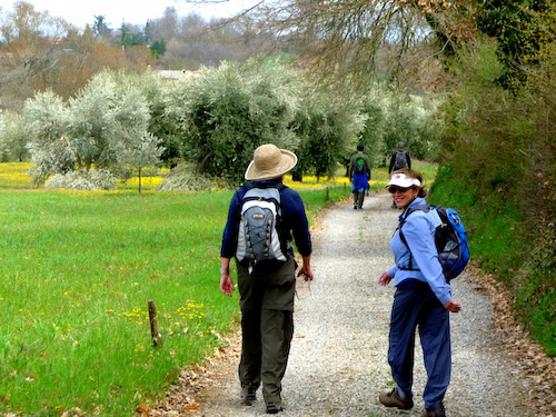 Walking to Orvieto