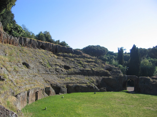 Ancient amphitheater, Sutri