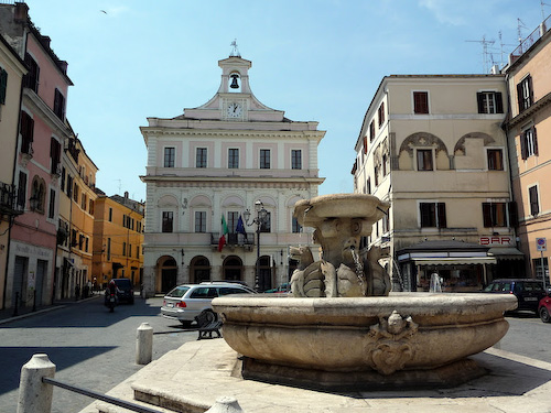 Piazza, Civita Castellana