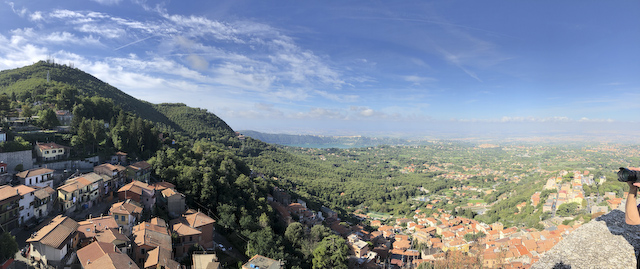 View from Rocca de Papa