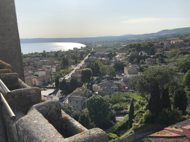 View from Castle, Bolsena